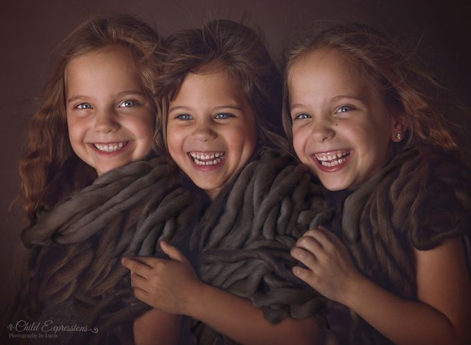 Real happiness by Child_Expressions - Family In The Holidays Photo Contest