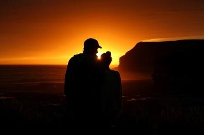 Love at Curio Bay