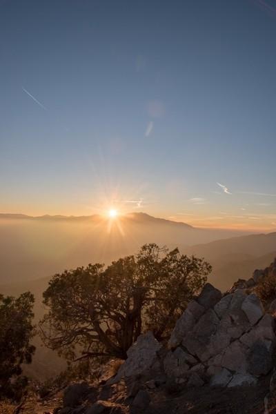 Mountain Sunset HDR