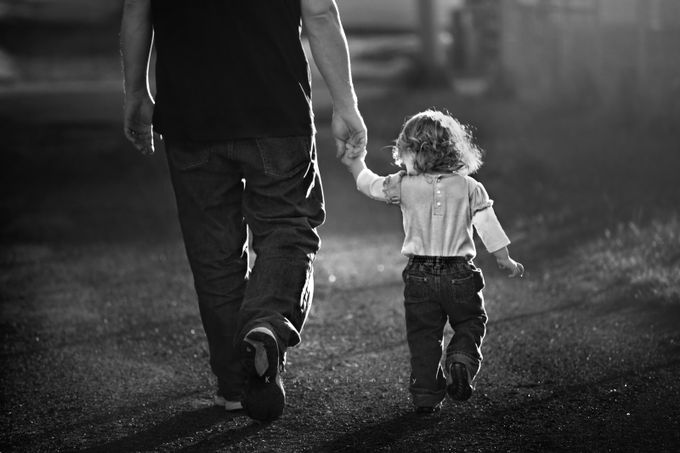 Walk with me by kapuschinsky - We Love Our Dads Photo Contest