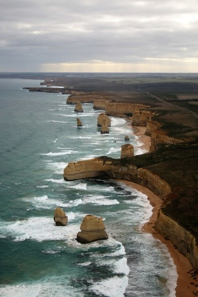12 Apostles from the air