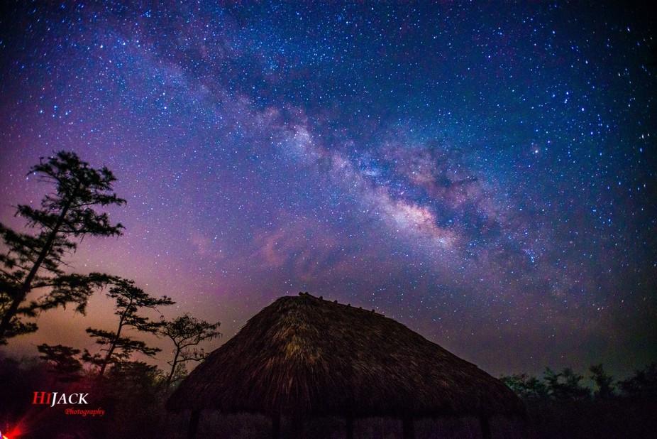 Milky way from Big Cypress