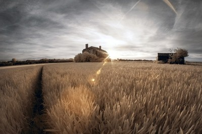 Lincolnshire in Infrared