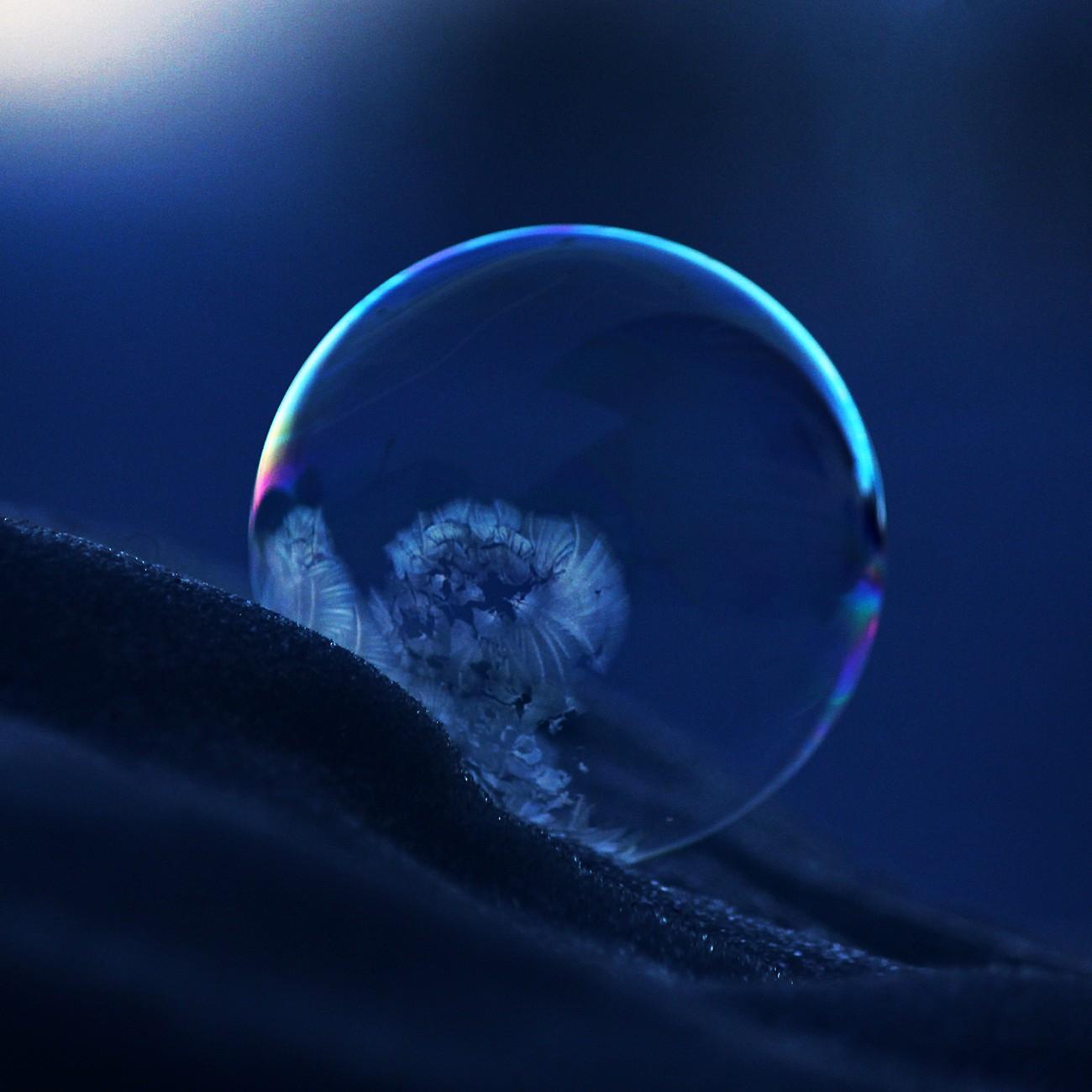 Bubble at Night