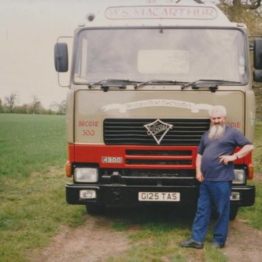 Dad with His Foden @ Kiltarlity