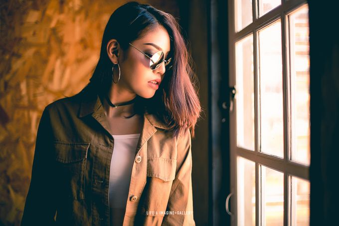 Daylight portrait workshop by thanetid - Sunglasses Photo Contest 2017