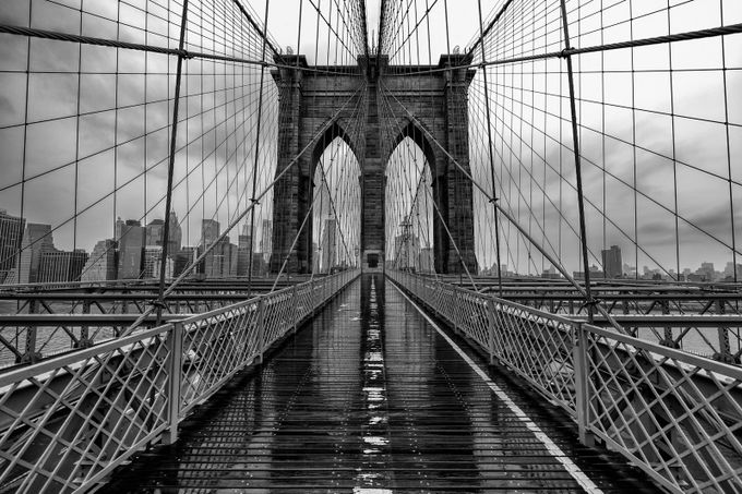 Brooklyn Bridge by ashleysowter - My Favorite City Photo Contest