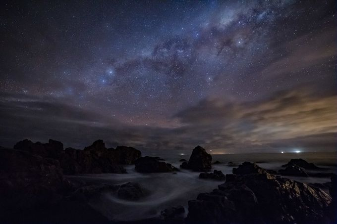 Cloudy night by Atheights - The Milky Way Photo Contest
