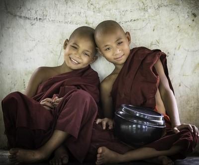 Myanmar 2 Novice Monks