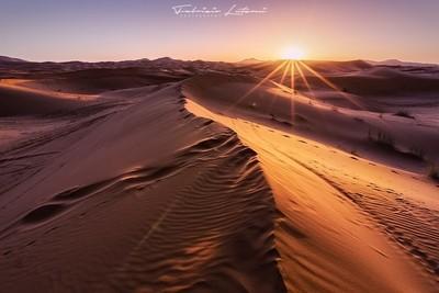Sunrise on the Sahara