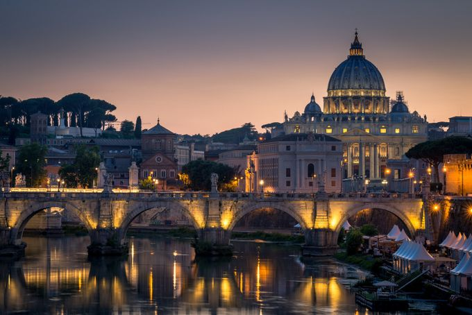 St. Peter's Basilica, Rome, Italy by RickBurgett - This Is Europe Photo Contest