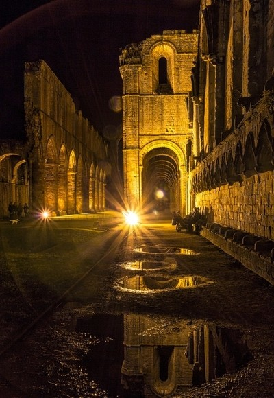 Reflections of Fountains Abbey