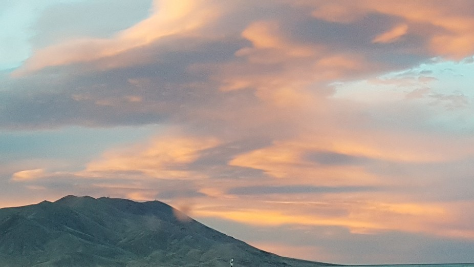 Butterfly Sunset....Winnemucca Nevada