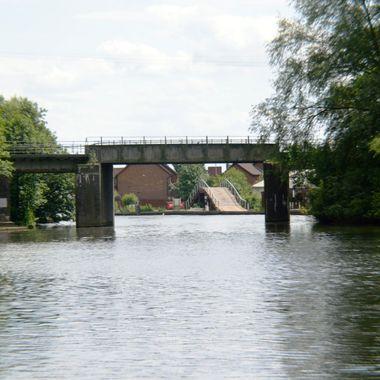 Two bridges at Wroxham.