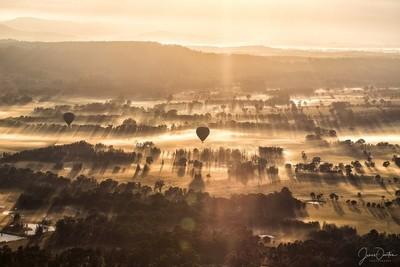 Hunter Sunrise - Balloon Aloft