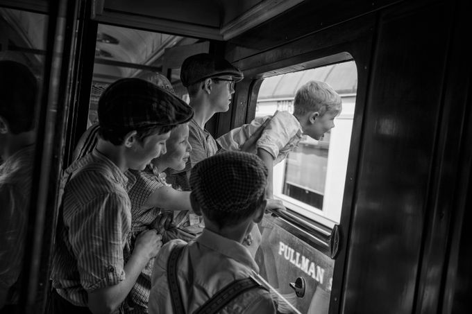 Train fun by danielmaas - Family In The Holidays Photo Contest