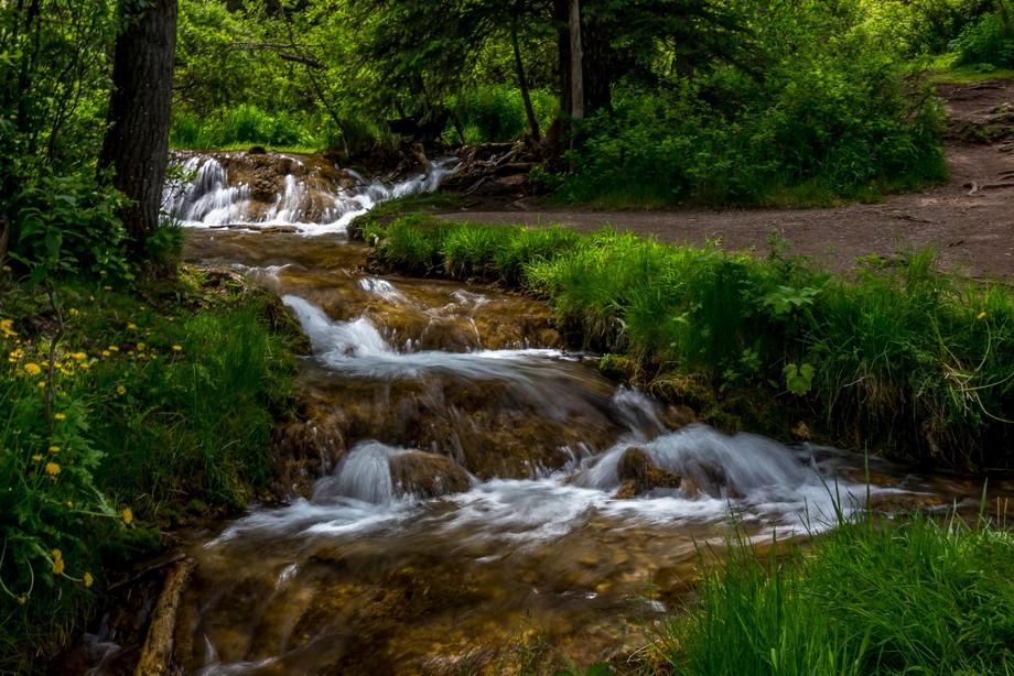 Falls taken at Big Hill Springs, Alberta,Canada