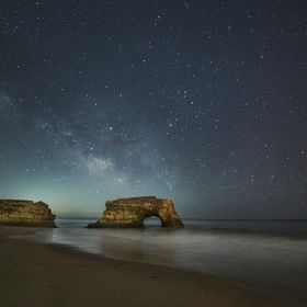 Natural Bridges State Park at night. The Milky Way came up at a reasonable hour (10:30PM I've often had to shoot at 4:00am). We've had ...