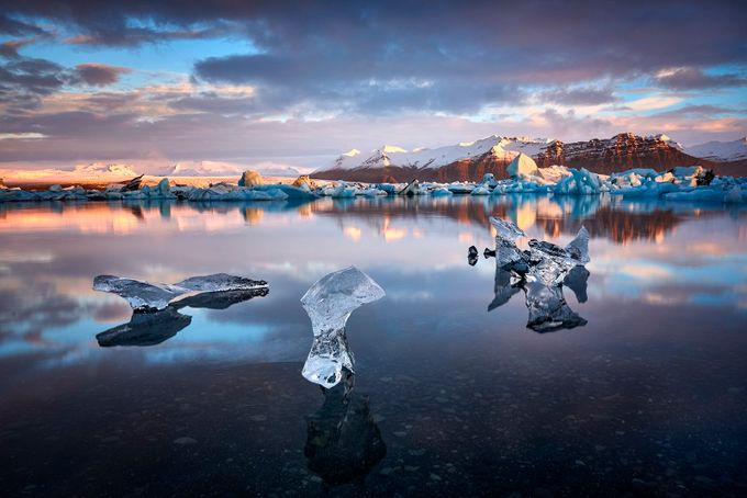 Ice bay by jansieminski - Our Natural Planet Photo Contest