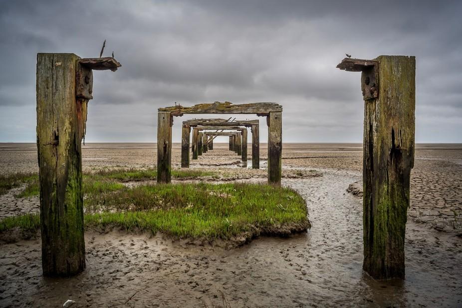 Bygone pier