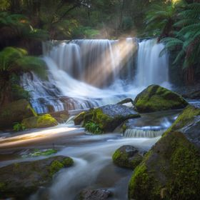 This is one of my favourite waterfall images that I've ever taken. Horseshoe Falls in Tasmania's Mt Field National Park is my happy pla...