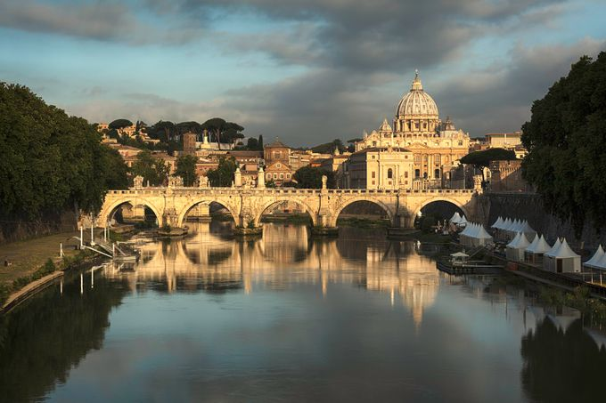 St.Peters Sunrise by anthonyryan - This Is Europe Photo Contest