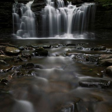 Ricketts Glen State Park in Pennsylvania has more than 20 beautiful waterfalls.