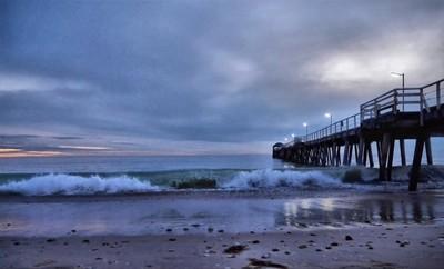 Pier at Henley Beach in Winter