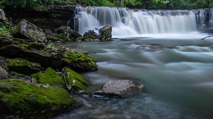 upper minneopa falls by tazzzer62 - Beautiful Waterfalls Photo Contest
