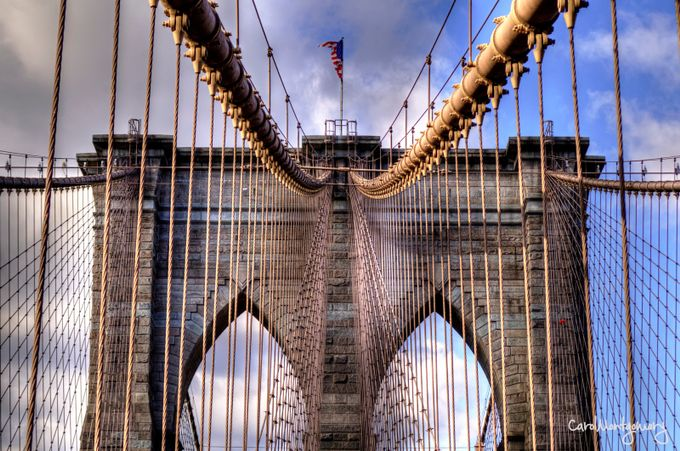 Brooklyn Bridge by Carol8345 - Spectacular Bridges Photo Contest