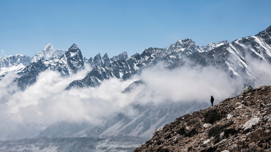 Photo taken during a trek to Kanchenjunga in Nepal which is known as the 3rd highest peak in the ...