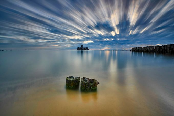 Baltic sea by jansieminski - Blue Skies Photo Contest