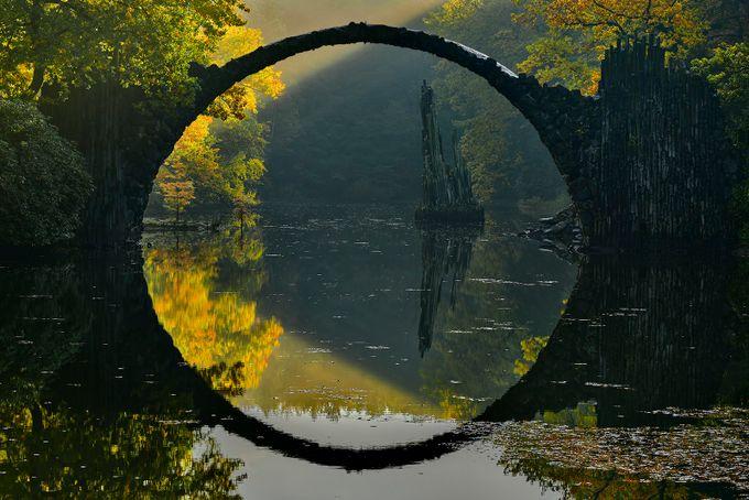 Devil's bridge by jansieminski - Composing With Circles Photo Contest