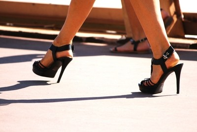 Walking on High Heels -  French Riviera