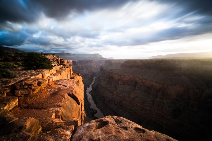 Grand Canyon Glow by jasonjhatfield - Spectacular Cliffs Photo Contest