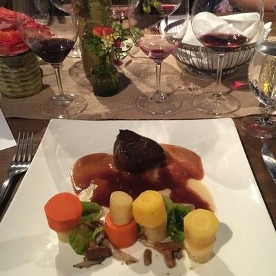 Vineyard dinner