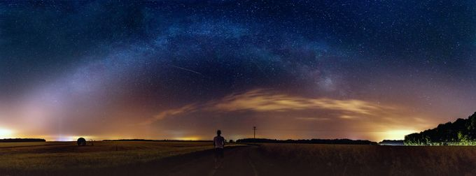 Under the stars by StephaneDroal - Capture The Milky Way Photo Contest