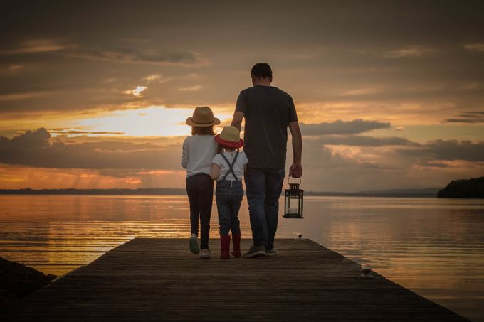 Daddy's Girls. by LyndseyGKidd - We Love Our Dads Photo Contest