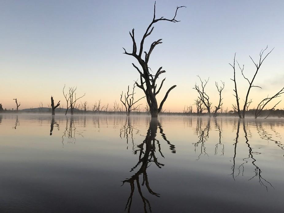 Drowned redeems on Rocklands Reservoir