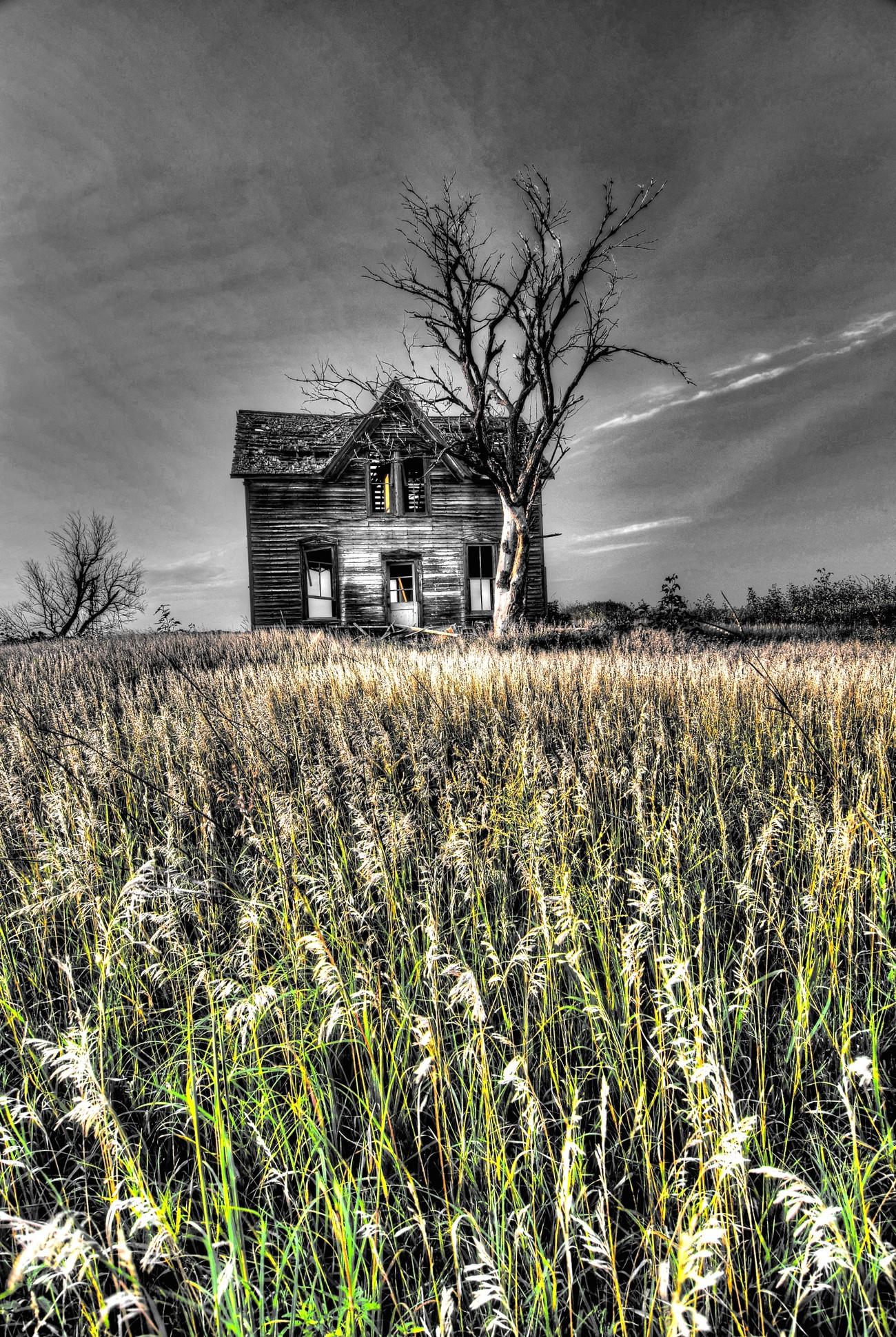 An old Kansas Farmhouse