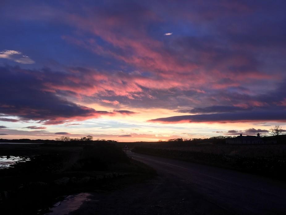 A wonderful sunrise in embo Scotland