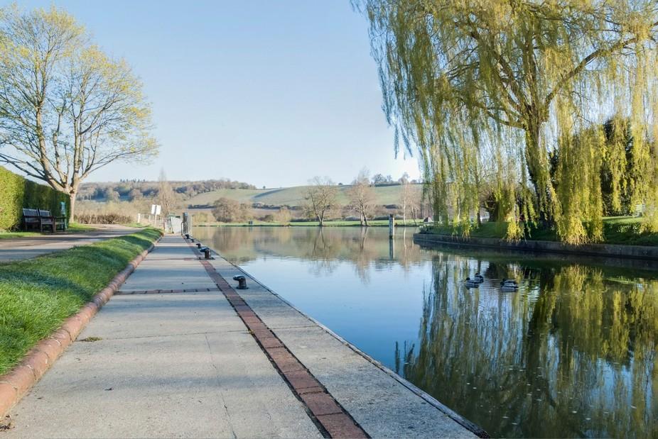 Early morning shot from Mapledurham lock