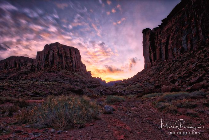 Scenic Dusk in Moab - Utah by marcobertazzoni - Covers Photo Contest Vol 40