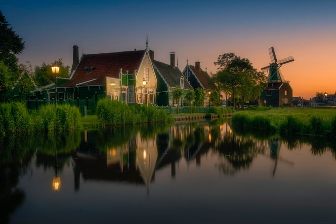 Zaanse_Schans by gilesrrocholl - Canals Photo Contest