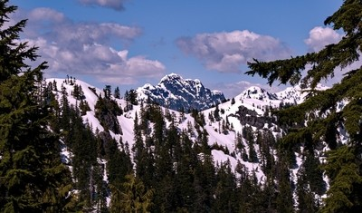 Cathedral Mountain British Columbia
