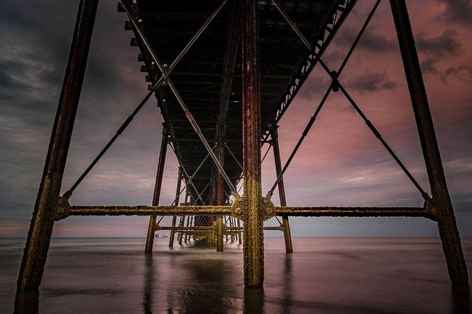 Under the pier by VHpixelscom - The View Under The Pier Photo Contest