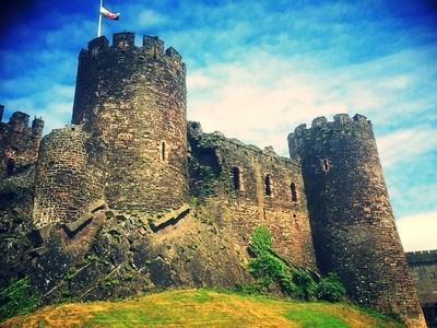 Castle towers