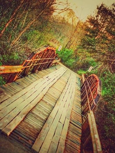 The Old Iron Bridge