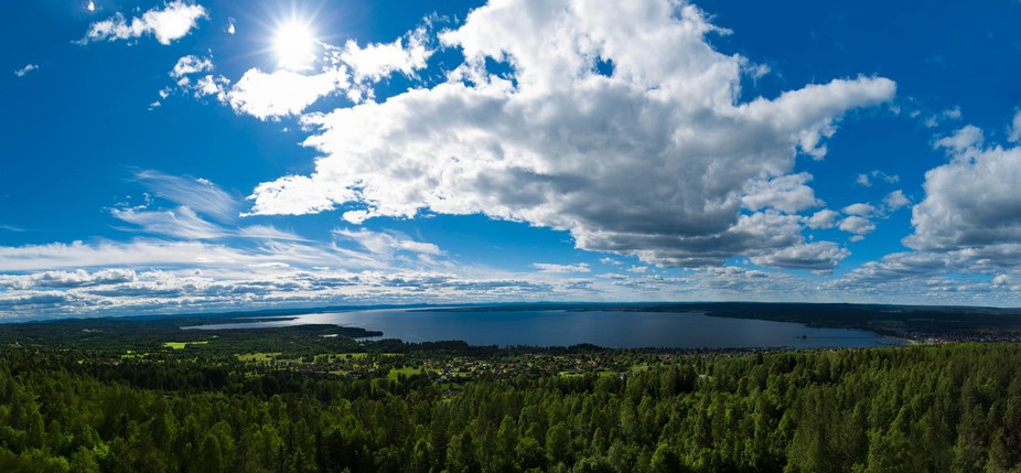 Wonderful Nordic Landscape. Taken in Dalarna, Sweden