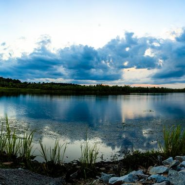 My 1st pano. Taken at bushy park, goose creek, south carolina